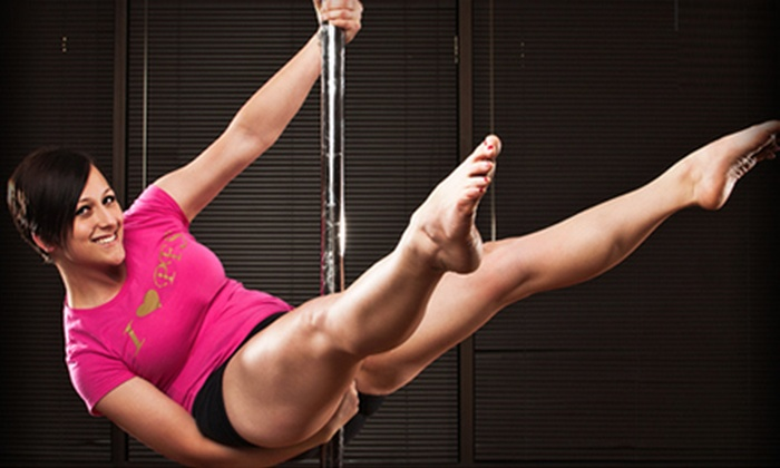 Pole'iticians Fitness Studios - Multiple Locations: $25 for Five Pole-Dancing or Fitness Classes at Pole'iticians Fitness Studios (Up to $150 Value)