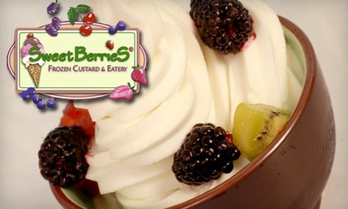 Sweetberries - Multiple Locations: $5 for $10 Worth of Frozen Custard, Salads, Sandwiches, and More at SweetBerries