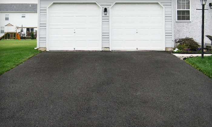 Osgood Painting & Contracting Services, LLC - Boston: Seal Coating of a Two- or Three-Car Driveway from Osgood Painting & Contracting Services, LLC (Up to 74% Off)
