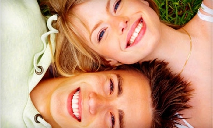 SofTouch Family Dental - South Salem: $69 for Exam, X-Rays, Simple Cleaning, and Teeth Whitening Trays and Gel at SofTouch Family Dental ($663 Value)