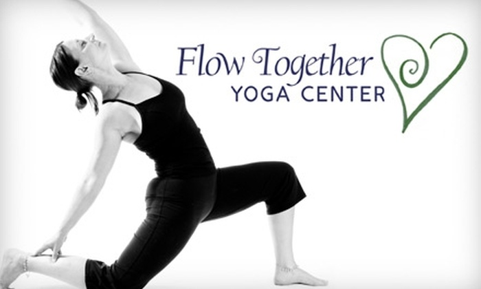 Flow Together Yoga Center - New Cumberland: $30 for Four Drop-In Classes at Flow Together Yoga Center ($60 Value)
