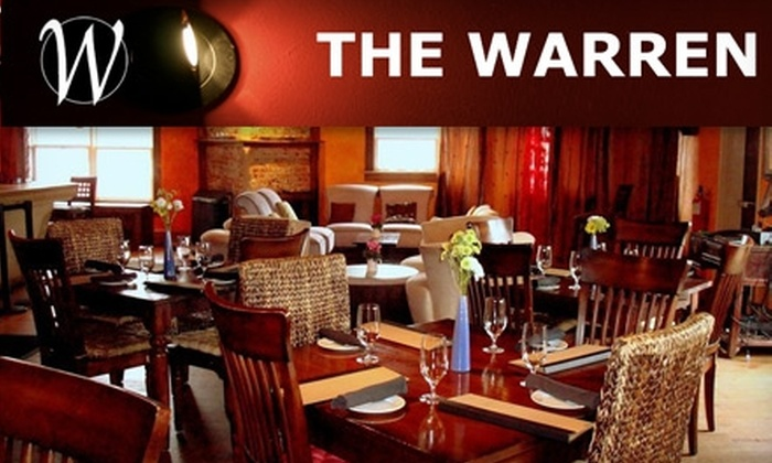 The Warren City Club - Virginia Highland: $85 for a Dinner Membership and $25 Credit for Exclusive Cuisine at The Warren City Club ($225 Value)