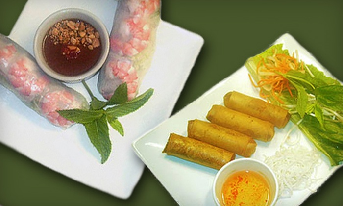 Café Trang - Trumbull Village: $20 for a Vietnamese Dinner for Two at Café Trang (Up to $40.75 Value)