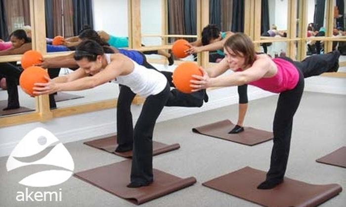 Akemi Fitness Method - Evanston: $45 for Five Classes at Akemi Fitness Method
