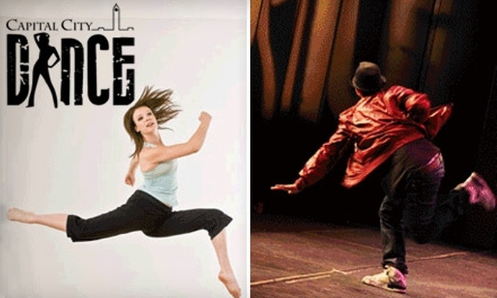 Capital City Dance - Civic Hospital - Experimental Farm - Central Park: $12 For Two Drop In Classes (a $24 value) at Capital City Dance