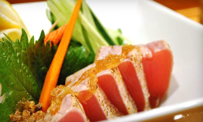 Osaka Sushi & Japanese Cuisine - Multiple Locations: $17 for $35 Worth of Authentic Japanese Cuisine After 4PM at Osaka Sushi & Japanese Cuisine