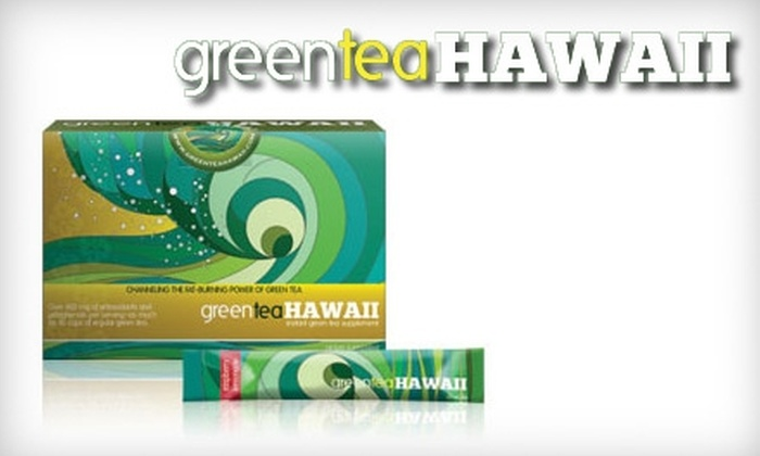 Green Tea Hawaii - San Jose: $34 for a One-Month Supply of Weight-Loss Green Tea ($69.95 Value)