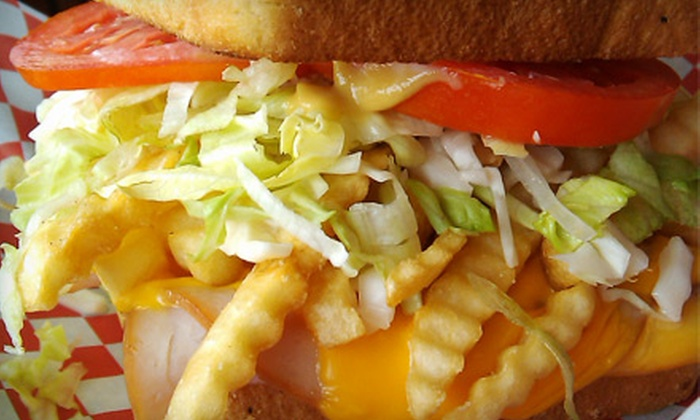 Sandwichville - Bartlett: Three or Six Sandwiches at Sandwichville in Bartlett