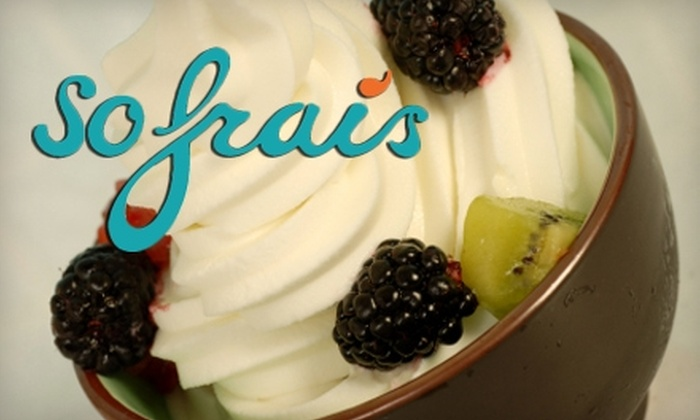So Frais - 28 Palms: $3 for $6 Worth of Frozen Yogurt, Gourmet Sweets, and More at So Frais