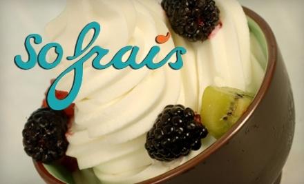 $6 Groupon to So Frais - So Frais in Fremont