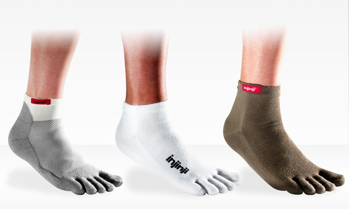 6 Pairs of Injinji Toe Socks: 6 Pairs of Injinji Performance Toe Socks (Up to 71% Off). Multiple Styles Available. Free Shipping.