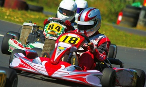 Billing Go Karting: 30 Minutes of Go-Karting For Up to Six People with Billing Go-Karting (Up to 61% Off)
