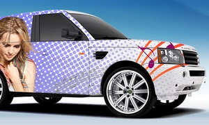 GTA Car Wrap: CC$100 for CC$500 Toward Full-Car Wrapping at GTA Car Wrap