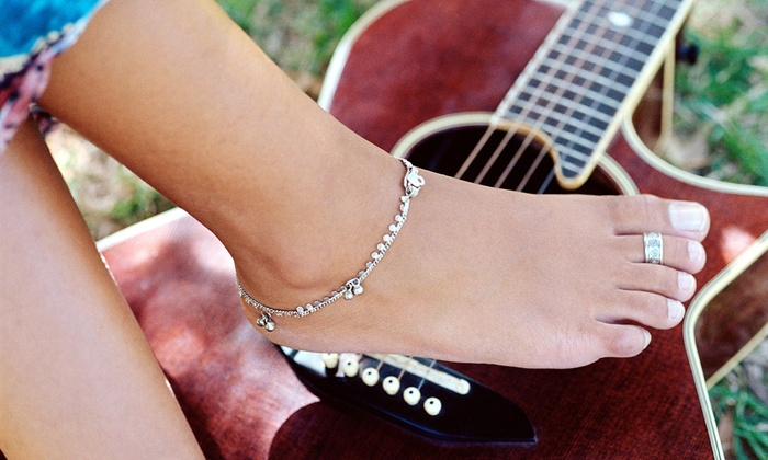 Tias Toe Rings and Things - Shearer Hills / Ridgeview: $15 for $30 Worth of Custom-Fitted Toe Rings and Anklets at Tias Toe Rings and Things