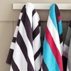 $12.99 for a Luxury 825 GSM Jacquard Striped Oversized Towel