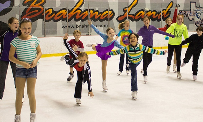 NYTEX Sports Centre - North Richland Hills: Friday-Night Ice Skating for Two or Four or Birthday Party at NYTEX Sports Centre (Up to 50% Off)