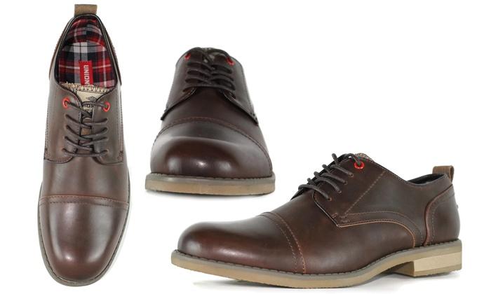 Unionbay Men's Wingtip and Cap Toe Oxfords (Size 7)