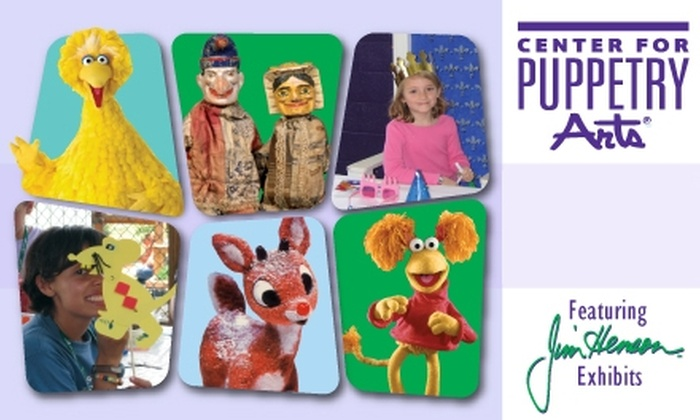 Center for Puppetry Arts - Midtown: $35 for a Year-Long Family Membership to the Center for Puppetry Arts ($75 Value)