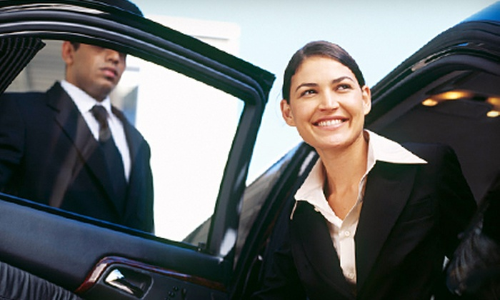 A-1 Luxury Limousine & Sedan Service - East Side: $65 for Airport Transportation for Four from A-1 Luxury Limousine & Sedan Service (Up to $144 Value)