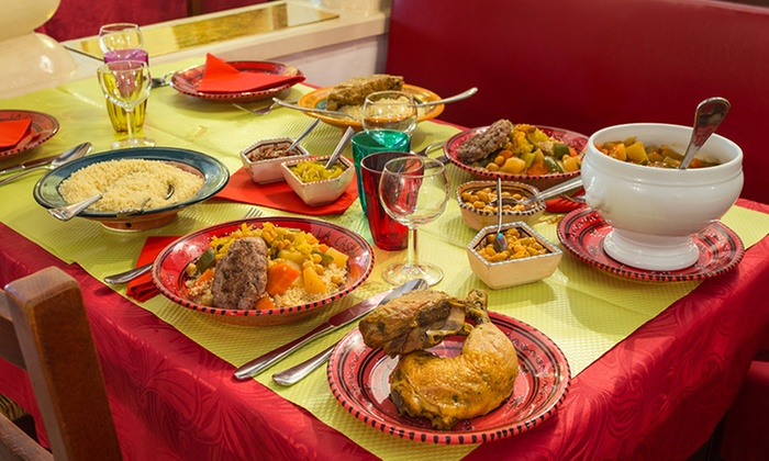 Restaurant marocain traditionnel la casbah groupon - Maroc cuisine traditionnel ...