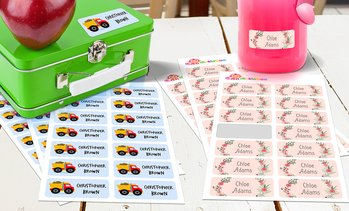 Personalised Kids' Name Labels