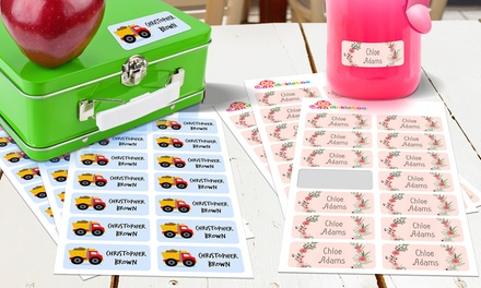 From $5 for a Multipack of Personalised Kids' Vinyl Name Labels (Don't Pay up to $99.95)