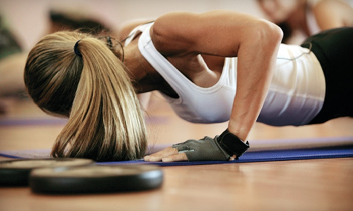 STAT Fitness - Downtown Chattanooga: Five Drop-in Boot-Camp Classes or Four-Week Yoga and Fitness Boot Camp at STAT Fitness (Up to 85% Off)