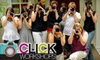Click Workshops: Photography Class from Click Workshops. Choose from Three Class Options.