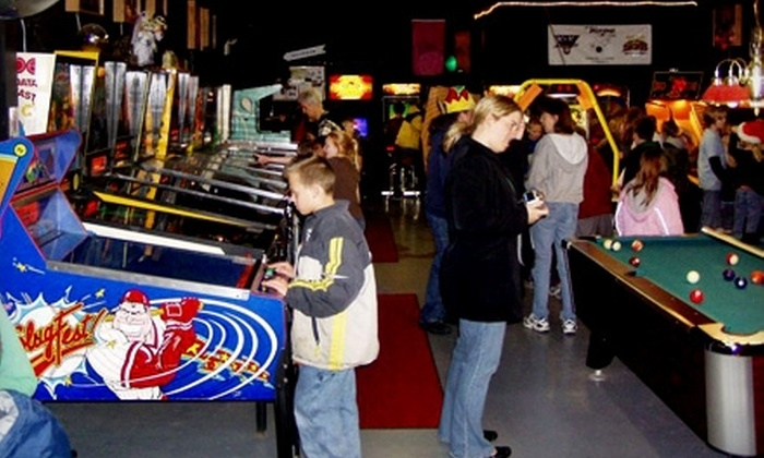 Klassic Arcade - Multiple Locations: Two Gaming Passes at Klassic Arcade or Two Adult-Admission Passes to the Pinball at the Zoo Festival