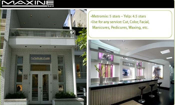 Maxine Salon - Near North Side: $50 for $100 Worth of Services at Maxine Salon