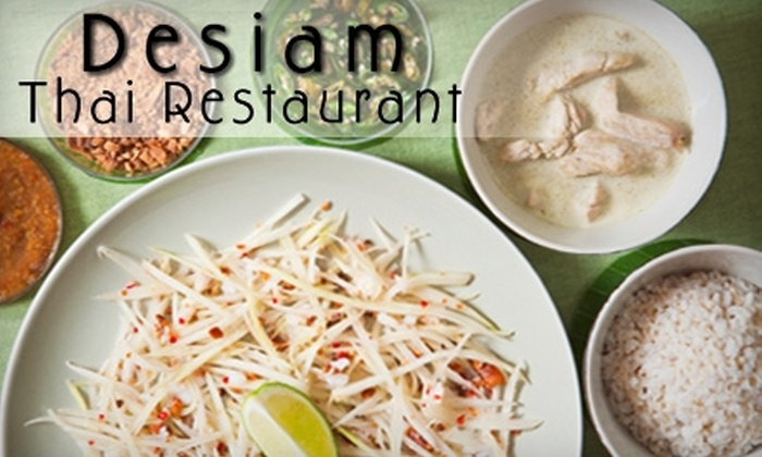 Desiam Thai Restaurant - Whitby: $7 for $15 Worth of Fare and Drink at Desiam Thai Restaurant