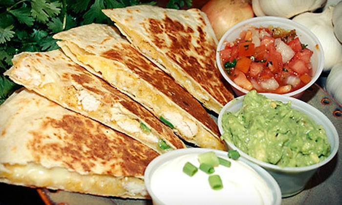 Sarita's Mexican Grill & Cantina - Hammond: $15 for $30 Worth of Mexican Food at Sarita's Mexican Grill & Cantina