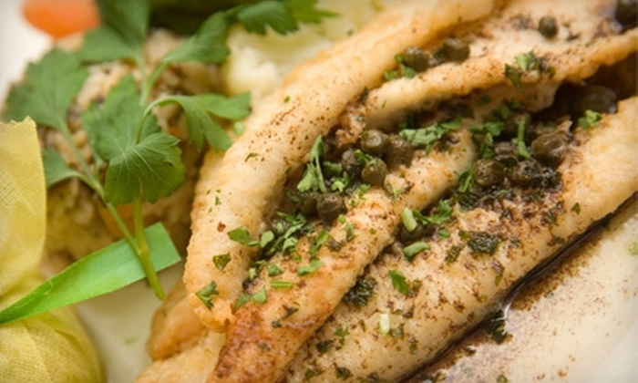 Bistro on Lincoln Park - Tremont: $20 for $40 Worth of Mediterranean Fare and Wine at Bistro on Lincoln Park