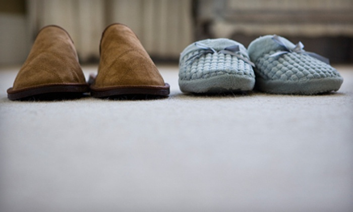 Simply Clean Carpet & Upholstery - Capitol District: $39 for Carpet Cleaning for Two Rooms from Simply Clean Carpet & Upholstery ($99.95 Value)