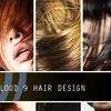 60% Off at Cloud 9 Hair Design