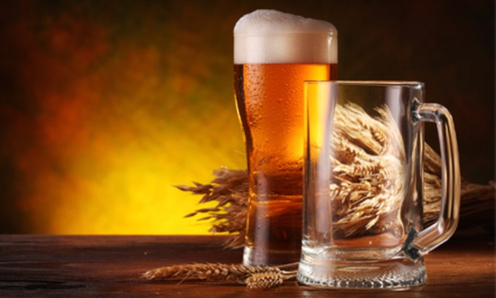 Brew and Grow - Multiple Locations: Introductory Beer-Making Class for Two People at Brew and Grow. Four Locations Available.