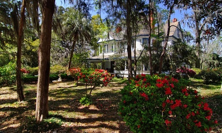 Stay with Optional Steak Dinner at The Daffodale Estate in Monticello, FL. Dates into June.