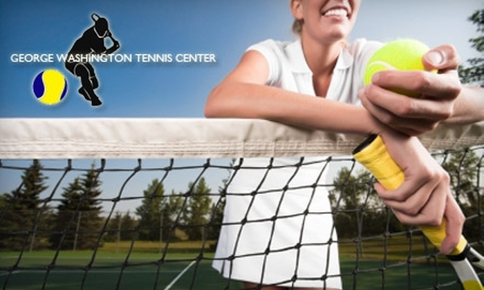 George Washington Tennis Center - Washington DC: $35 for a One-Month Membership to The George Washington Tennis Center ($75 Value)