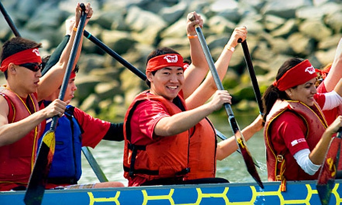 Dragon Boat BC & Dragon Zone Paddling Club - Mt. Pleasant: Introductory Dragon-Boating Class for One, Two, or Four at Dragon Boat BC & Dragon Zone Paddling Club (Up to 63% Off)