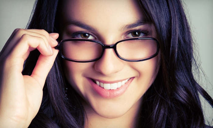 Visual Eyes at Mizner Park - Mizner Park: $39 for a Complete Eye Exam and $100 Off a Full Set of Frames and Lenses at Visual Eyes in Boca Raton ($154 Value)