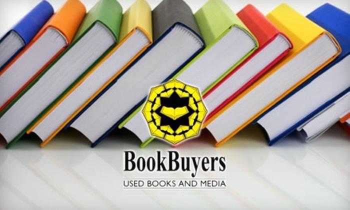 BookBuyers - Old Mountain View: $12 for $25 Worth of Used Books, DVDs, and More at BookBuyers in Mountain View