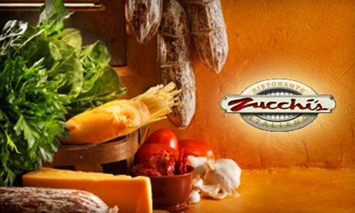 Zucchi's - Odessa: $15 for $30 Worth of Italian Cuisine at Zucchi's