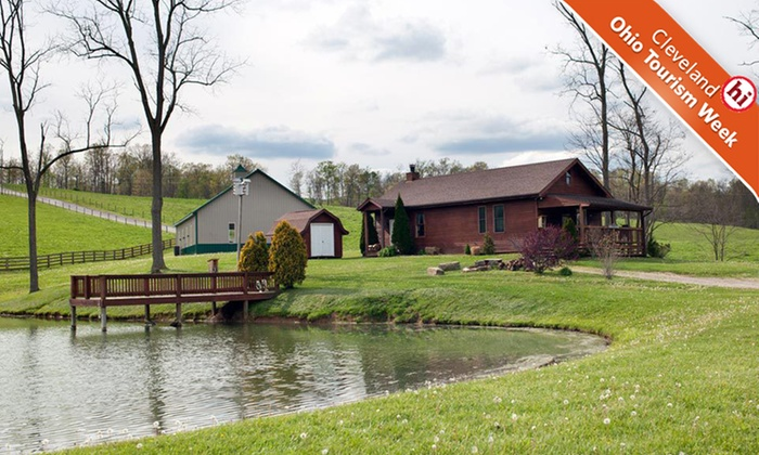 Pine Lakes Lodge - Wills: One- or Two-Night Stay in a Cabin at Pine Lakes Lodge in Salesville, OH