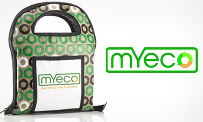 My Eco - New York City: $15 for a Shopping-Bag System from MY ECO ($29.95 Value)