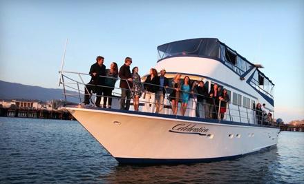 1-Hour Sunset Cruise for 2 ($70 value) - Celebration Cruises Santa Barbara in Santa Barbara