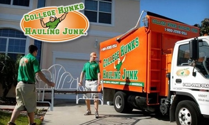 College Hunks Hauling Junk - Van Nuys: $150 for Removal of Half of a Truck's Worth of Junk from College Hunks Hauling Junk ($368 Value)