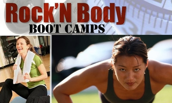 Rock'N Body Boot Camps - Sussex: $40 for a Four-Week Boot-Camp Program at Rock'N Body Boot Camps ($199 Value)