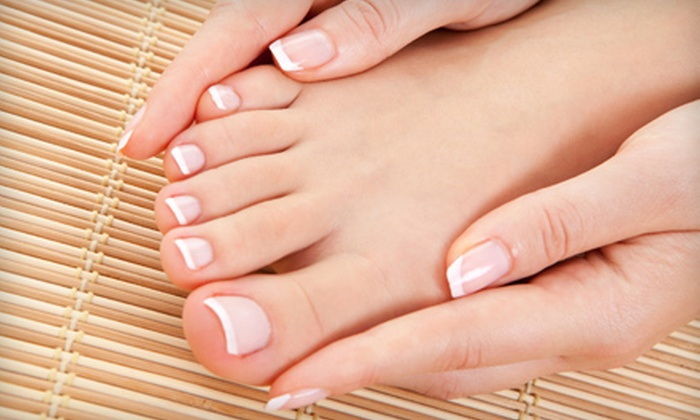 Heyo Nail - DePaul: $20 for a Manicure and Pedicure at Heyo Nail ($40 Value)