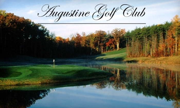Augustine Golf Club - Augustine North: $44 for 18 Holes of Golf, Cart Rental, Cup of Coffee, Bucket of Range Balls, and an 18-Hole Replay at Augustine Golf Club in Stafford (Up to $88 Value)