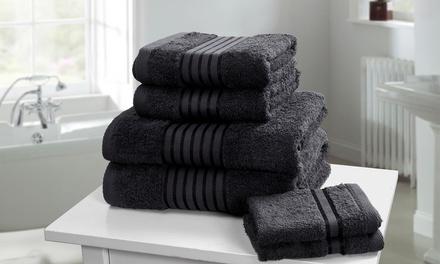 Rapport Home 500gsm Six or TwelvePiece Egyptian Cotton Windsor Towel Bale